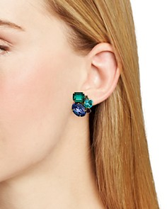 Sorrelli - Stone Cluster Clip-On Earrings