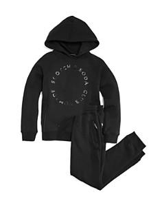 Scotch Shrunk - Boys' Club Nomad Circle Logo Sweatshirt & Sweatpants - Little Kid, Big Kid