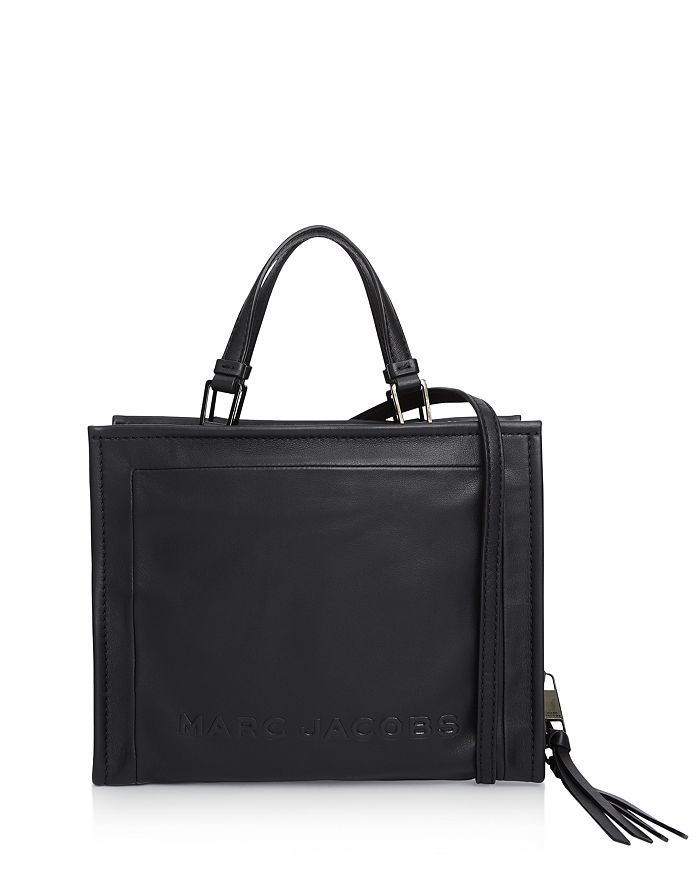 MARC JACOBS - The Box Large Leather Shopper Tote