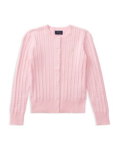 Ralph Lauren - Girls' Cable-Knit Cardigan - Big Kid