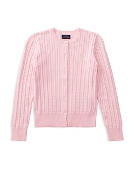 Ralph Lauren - Girls' Cable-Knit Cardigan - Baby, Little Kid, Big Kid