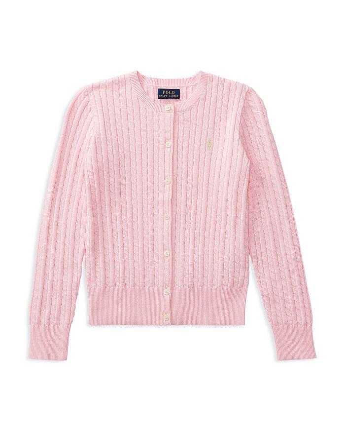 Ralph Lauren - Girls' Cable-Knit Cardigan - Baby, Little Kid, Big Kid