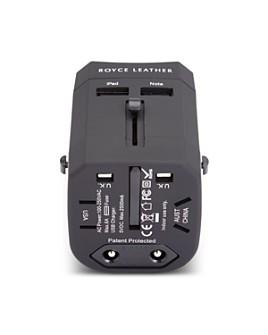 ROYCE New York - International Travel Adapter Wall Plug