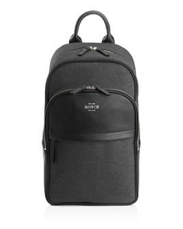 "ROYCE New York - Power Bank Charging 15"" Laptop Backpack"