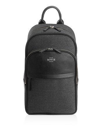 "ROYCE New York - Power Bank Charging 15"" Laptop Backpack"