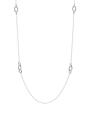 Argento Vivo Long Rope Link Necklace in Sterling Silver, 35