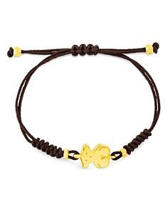 TOUS - 18K Yellow Gold Sweet Dolls Bear Cord Bracelet