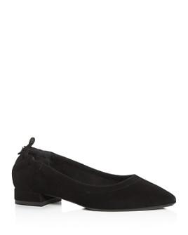 Aquatalia - Women's Pilara Weatherproof Pointed-Toe Flats