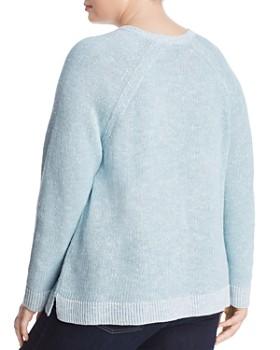 Eileen Fisher Plus - Raglan Sleeve Sweater
