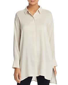 Eileen Fisher - Silk Button-Down Tunic