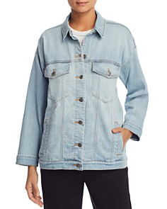 Eileen Fisher - Drop Shoulder Denim Jacket