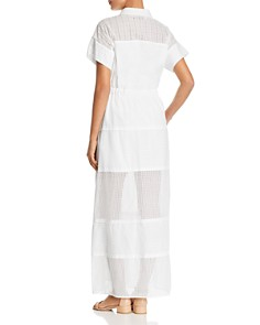 Weekend Max Mara - Cristin Sheer Eyelet-Detail Maxi Dress