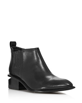 3b7fa7cb8783 Alexander Wang - Women s Kori Leather Ankle Booties ...