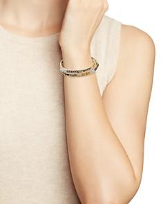 Chan Luu - Multi-Stone Wrap Bracelet in Sterling Silver