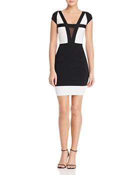 GUESS - Altea Color-Block Body-Con Dress