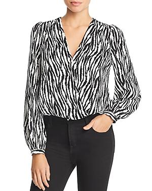 Lucy Paris Zebra Stripe Bodysuit