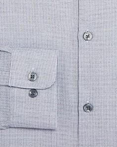 John Varvatos Star USA - Micro-Checked Regular Fit Dress Shirt