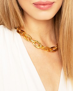 """Jules Smith - In Chains Necklace, 12"""""""