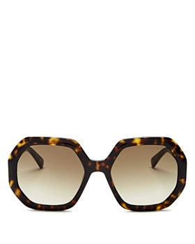 Longchamp - Women's Octagon Sunglasses, 55mm