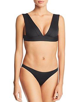 Vitamin A - Magnolia V-Neck Bikini Top & Giselle Hipster Bikini Bottom