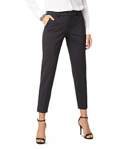 Liverpool - Kelsey Textured Slim Ankle Pants