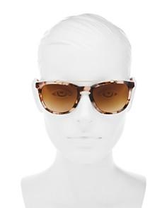Valentino - Women's Brow Bar Square Sunglasses, 54mm
