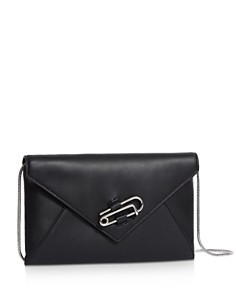 ALLSAINTS - Nancy Leather Convertible Crossbody Clutch