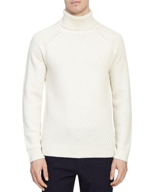 Reiss Leith Textured Turtleneck Sweater