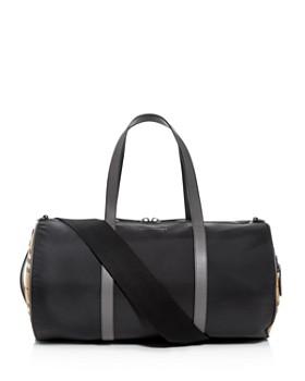 Burberry - Kennedy Vintage Check Nylon Duffel Bag ... 57c7199066