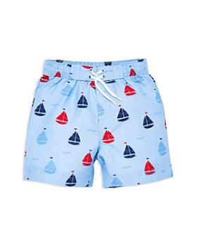 Little Me - Boys' Sailboat Swim Trunks - Baby