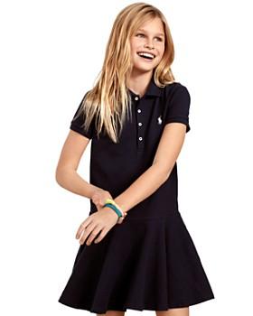 Ralph Lauren - Girls' Mesh Polo Shirt Dress - Big Kid