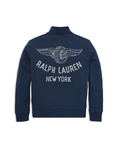 Ralph Lauren - Boys' French Terry Baseball Jacket - Little Kid