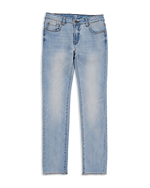7 For All Mankind Boys Paxtyn Light Wash Jeans  Big Kid