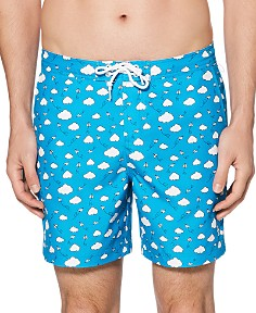 Original Penguin - Paper Airplane Swim Shorts