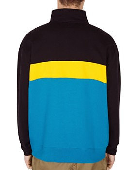 OBEY - Chelsea Color-Block Mock Neck Sweatshirt
