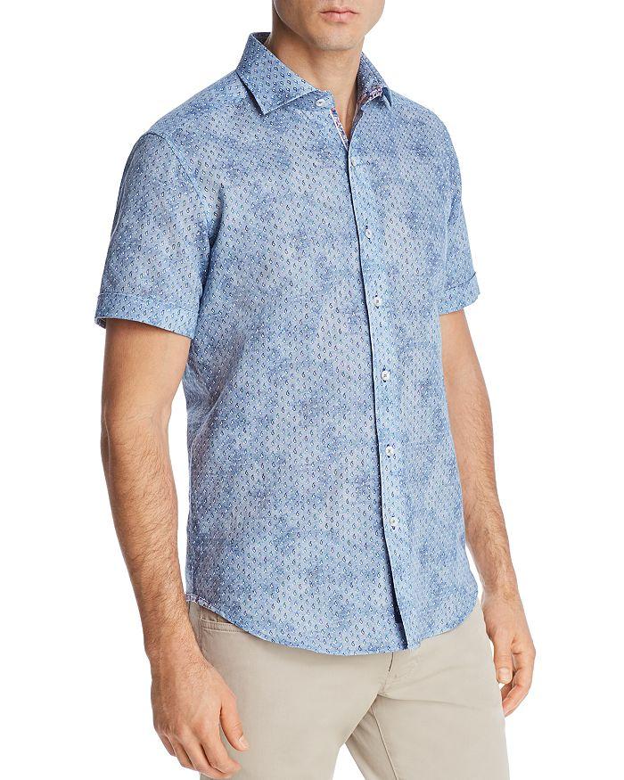 Robert Graham - Merritt Short-Sleeve Paisley-Print Classic Fit Shirt - 100% Exclusive