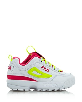 52aa3e1bf33b ... FILA - Women s Disruptor 2 Premium Lace-Up Sneakers - 100% Exclusive