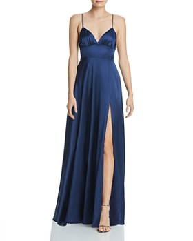 Fame and Partners - Margit Satin Gown
