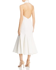 MILLY - Penelope Halter Midi Dress