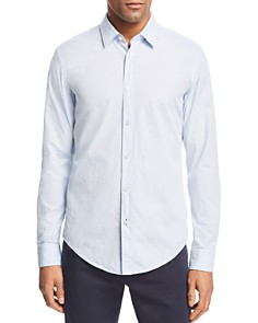 BOSS Hugo Boss - Ronni Micro-Embroidered Slim Fit Shirt