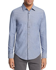 BOSS Hugo Boss - Ronni Confetti Slim Fit Button-Down Shirt