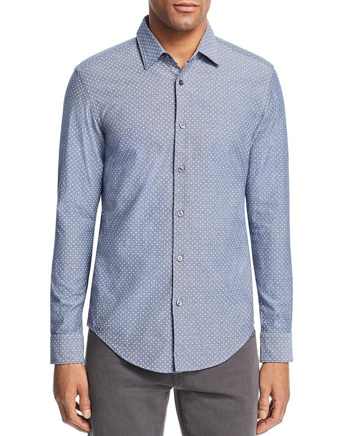 deedaedc7 BOSS Hugo Boss BOSS Ronni Confetti Slim Fit Button-Down Shirt ...