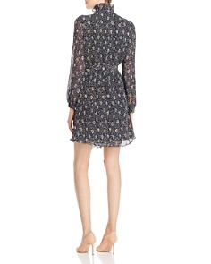 Tory Burch - Deneuve Floral Plissé Dress