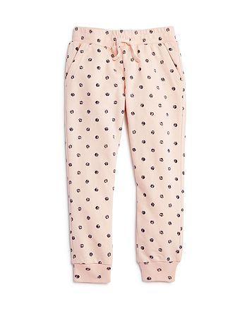 Splendid - Girls' Polka-Dot Jogger Pants - Little Kid