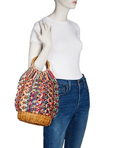 SERPUI - Lara Macrame Basket Bag
