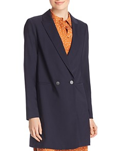 Lafayette 148 New York - Maverick Long Double-Breasted Blazer