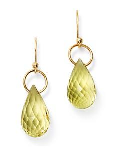 Bloomingdale's - Briolette Lemon Citrine Drop Earrings in 14K Yellow Gold - 100% Exclusive