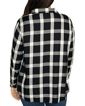 Sanctuary Curve - Boyfriend For Life Plaid Shirt