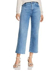 J Brand - Joan Crop Wide-Leg Jeans in Andromeda