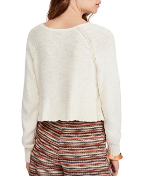 8f71d1d8bc8 ... Free People - Cotton V-Neck Sweater